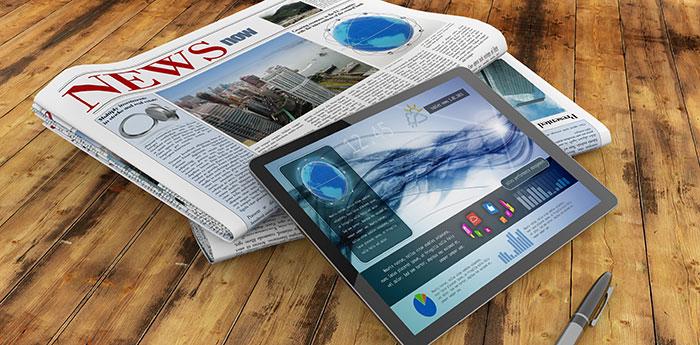 Print-and-digital-newspapers