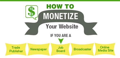 Infographic: How To Monetize Your Website