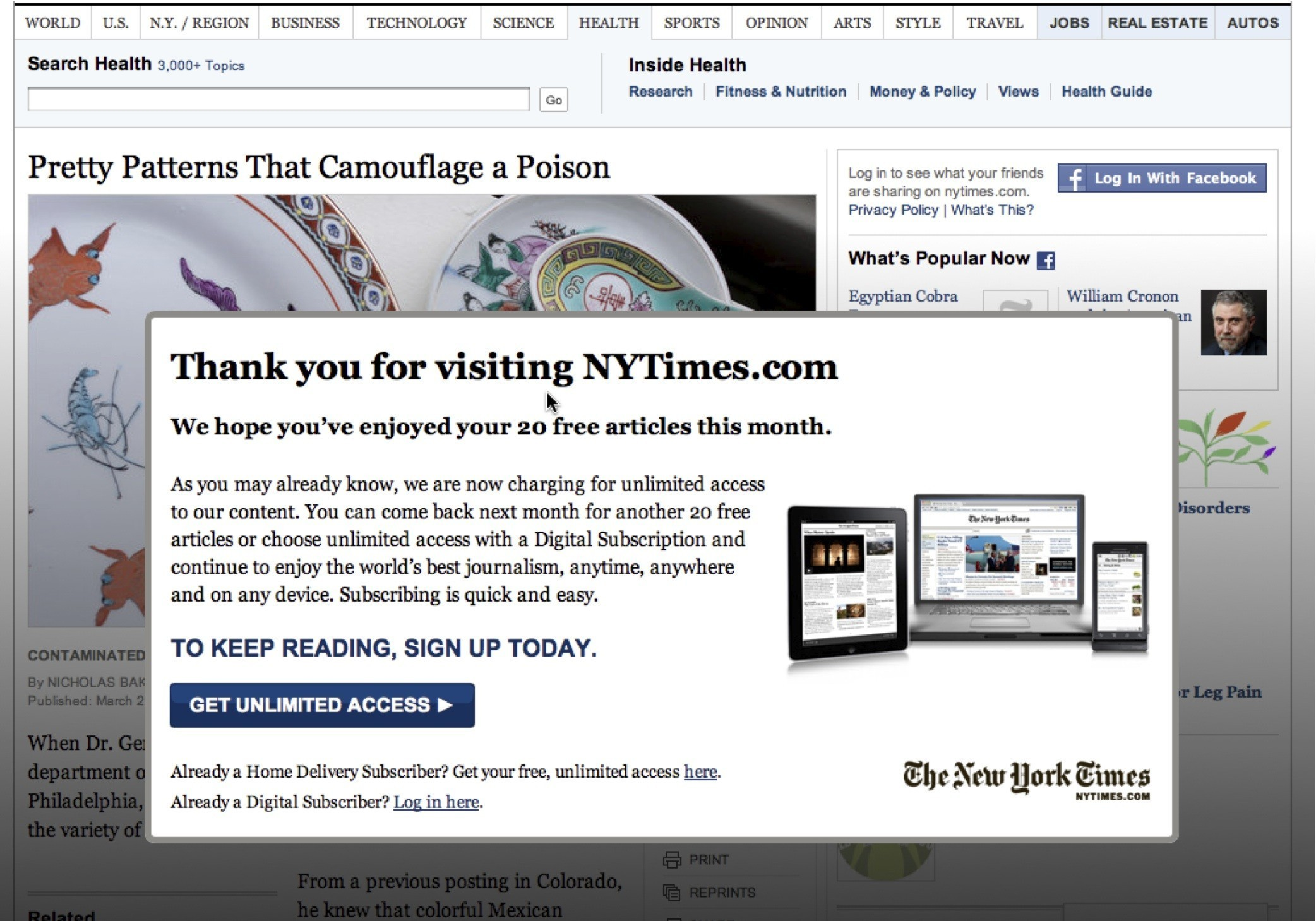 Ny Times Subscription Advertising Woes Hit Ny Times As Digital Subscriptions Grow