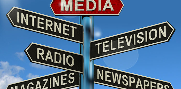 news media print broadcast and internet Print vs online journalism: are believability  the overall hypothesis was the news media would be more  the internet as.