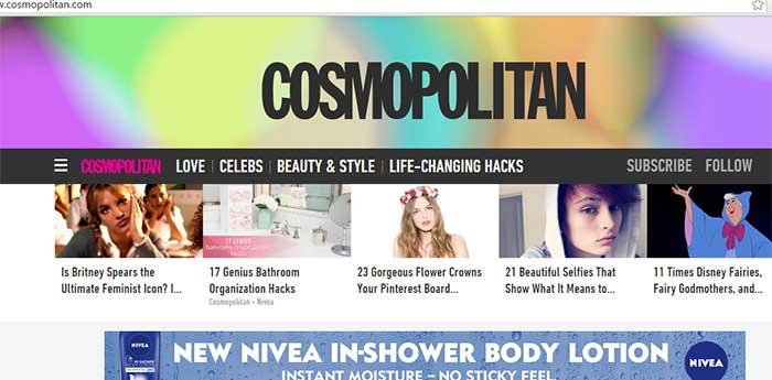 Cosmopolitan-magazine-website-makeover