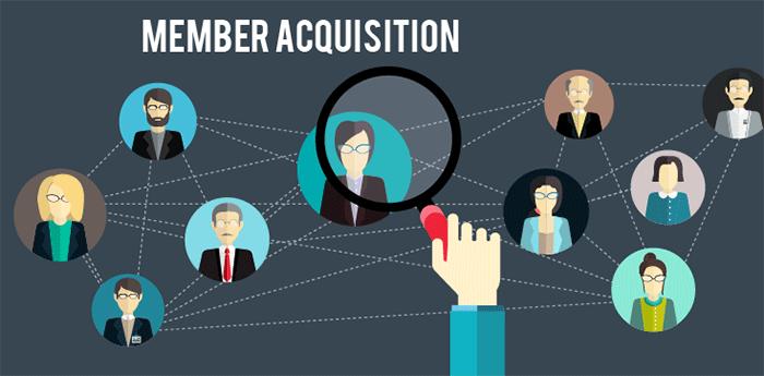 Member-acquisition