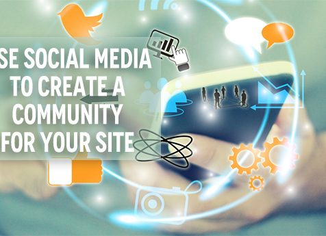Use Social Media to Create a Community For Your Site