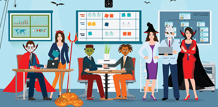 7 Fun Ways To Celebrate Halloween In Your Office