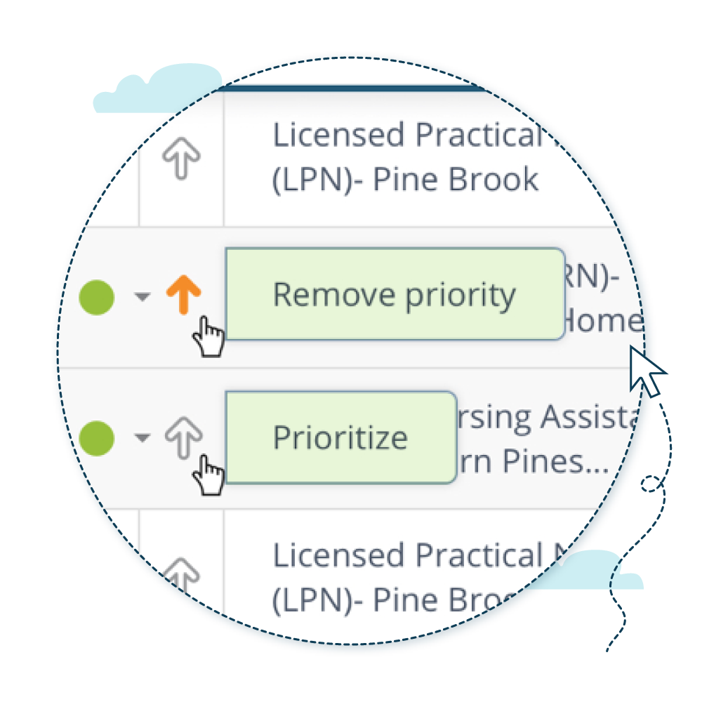 proactive with dashboard