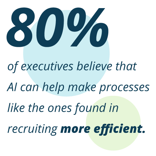 Stat About Business Executives And Their Optimism about AI Recruiting
